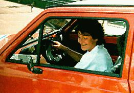 Arantxa winning a car 1987